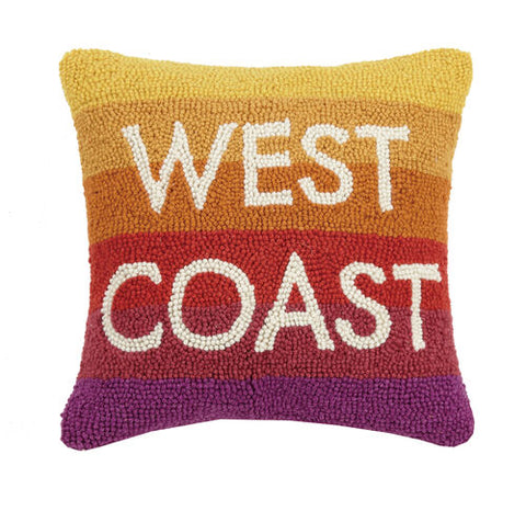 West Coast Hook Pillow