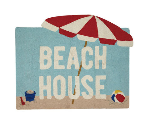 Beach House Hook Rug