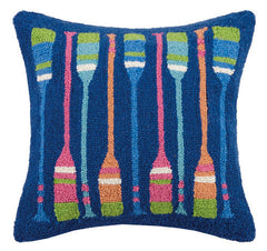 Rainbow Oars Hook Pillow