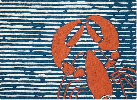 Waterline Lobster Hook Rug