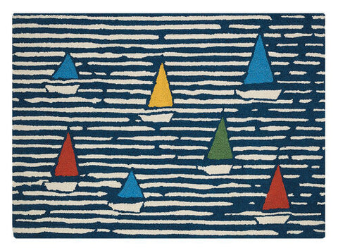 Waterline Boats Hook Rug