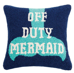 Off Duty Mermaid Hook Pillow