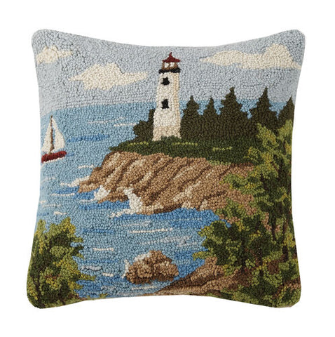 Lighthouse View Hook Pillow