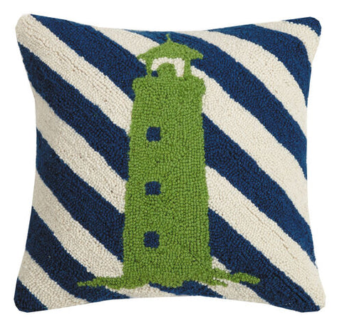 Lighthouse Stripe Hook Pillow