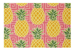 Preppy Pineapple Hook Rug