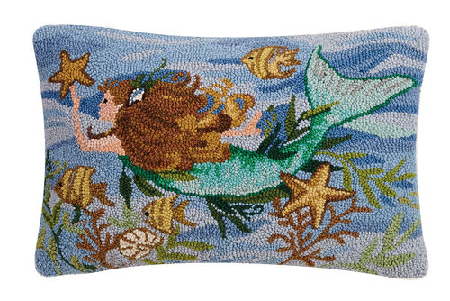 Mermaid Hook Pillow
