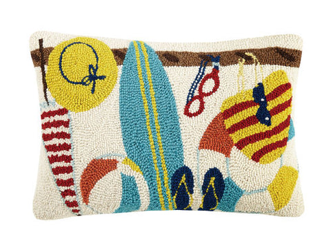 Beach Rack Hook Pillow