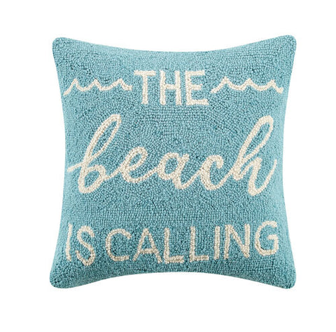 Beach is Calling Hook Pillow