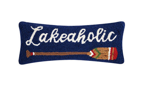 Lakeaholic Hook Pillow