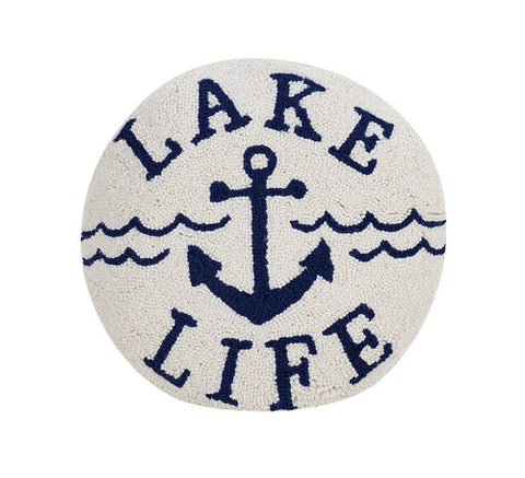 Lake Life Hook Pillow
