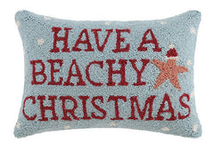 Have A Beachy Christmas Hook Pillow