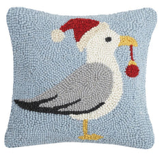 Christmas Seagull Hook Pillow