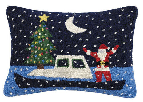 Santa Boat Hook Pillow