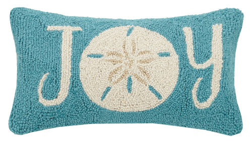 Sand Dollar Joy Hook Pillow