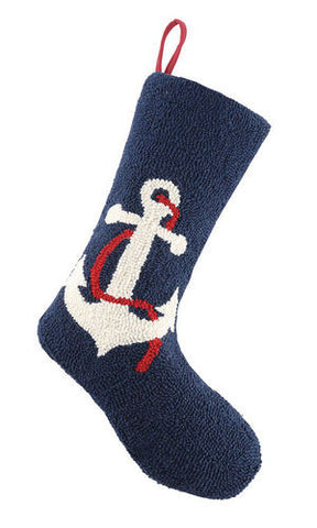 Holiday Anchor Christmas Stocking