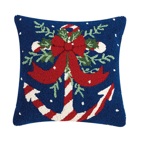 Candy Cane Hook Pillow