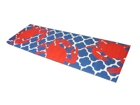 Red Crab Hook Rug