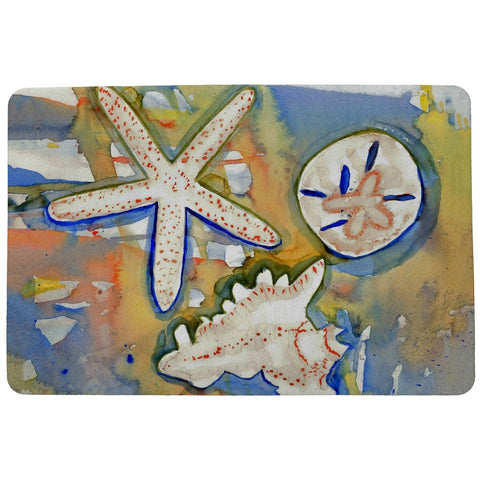 Beach Treasures Doormat