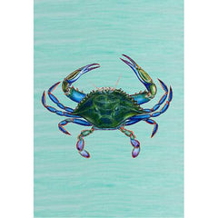 Male Blue Crab Large Flag