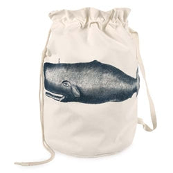Moby Duffle Laundry Bag - Ink