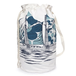 Dazzle Ship Duffle Laundry Bag