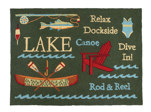 Lake Hook Rug- Accent- Backordered Item!