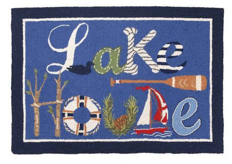 Lake House Hook Rug