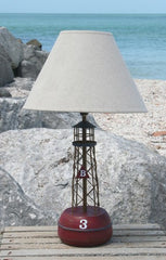 Red Bell Buoy Lamp