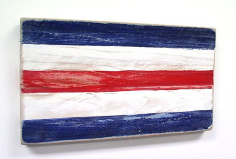 Nautical Wood Signal Flag- C (Charlie)