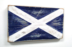 Nautical Wood Signal Flag- M (Mike)