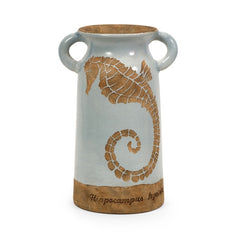 Naples Urn with Seahorse