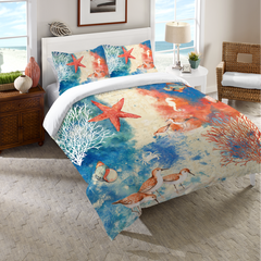 Ocean Splash Duvet Cover