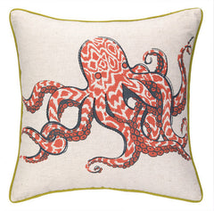 Octopus Printed Pillow