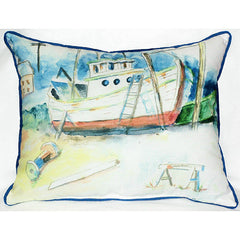 Betsy Drake Old Boat Pillow- Indoor/Outdoor
