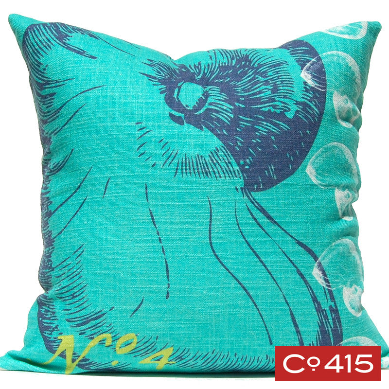 Nautilus Pillow - Ocean