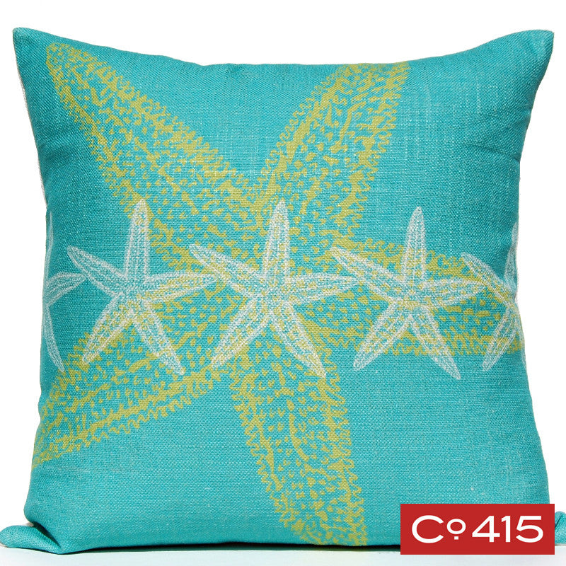 Starfish Pillow - Ocean