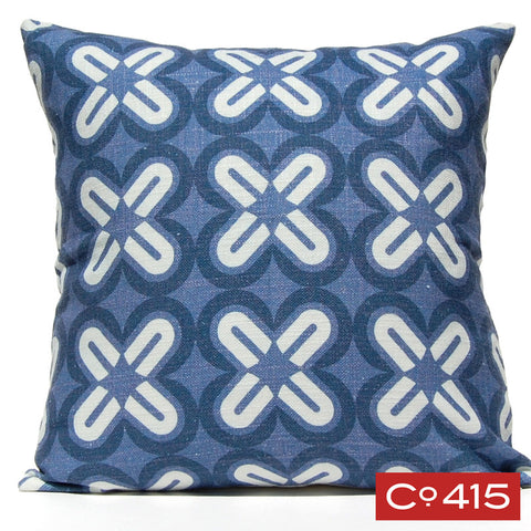 C's & X's Pillow - Navy
