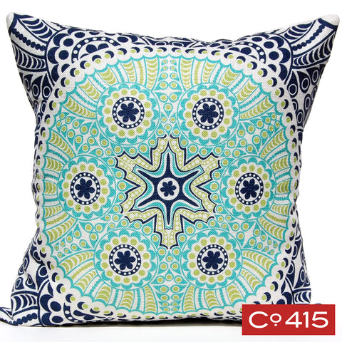 Medallion 3 Pillow - Ocean