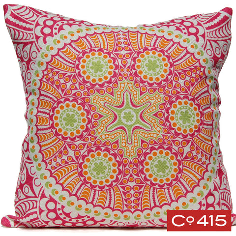 Medallion 3 Pillow - Tropical