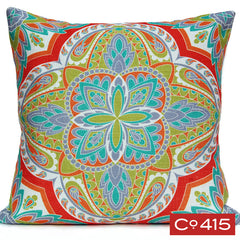 Quatrefoil Pillow - Tropical