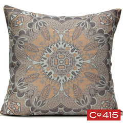 Scarf Print Pillow - Oyster Bay