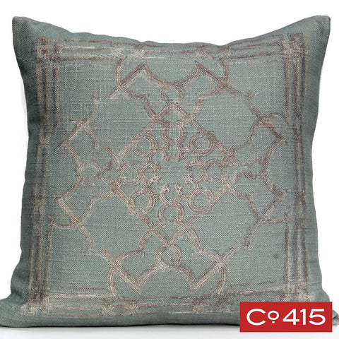 Pressed Tin Pillow - Oyster Bay