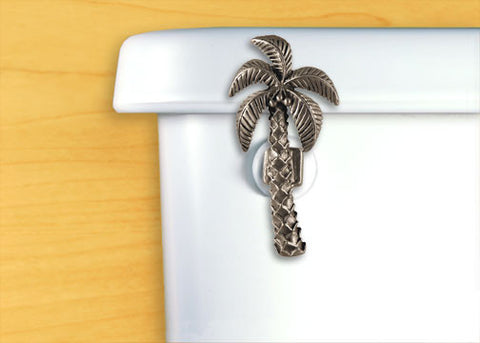 Palm Tree Toilet Flush Handle