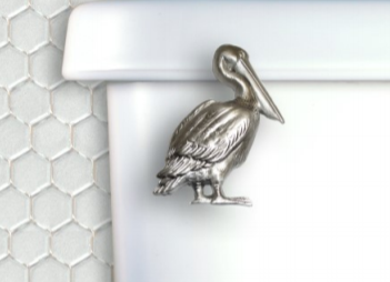 Pelican Toilet Handle