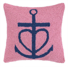 Pink Achor Hook Pillow