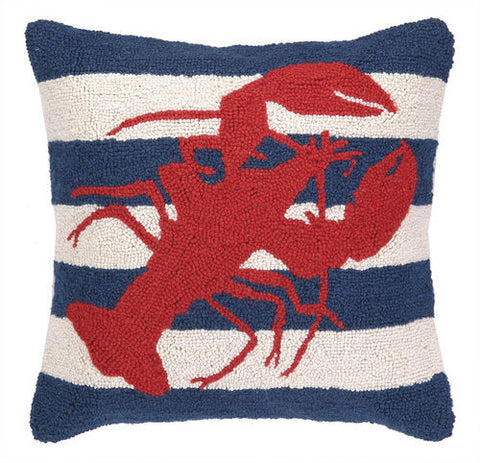 Red Lobster Hook Pillow