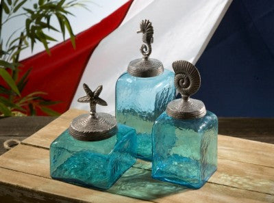 Sea Life Canister Set Coastal Style Gifts