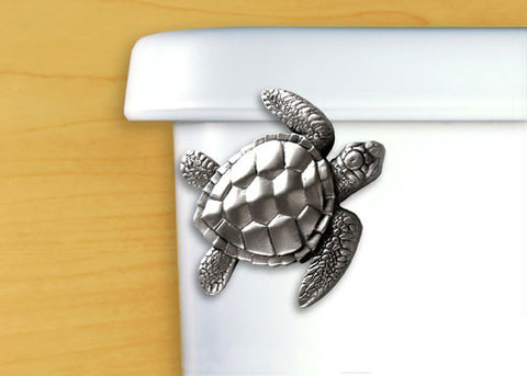 Sea Turtle Toilet Flush Handle
