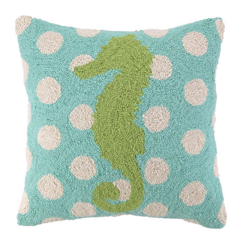 Seahorse Hook Pillow- Backordered Item