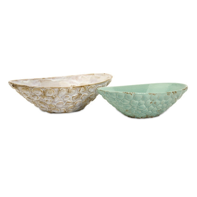 Seashell Serving Bowls- Set of 2